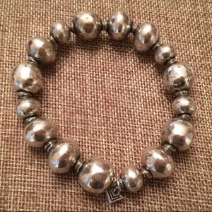 Silpada .925 Sterling Silver Atmospheric Bracelet